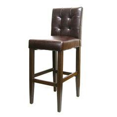 Beaulon Button Back Upholstered Brown Metal Bar Stool Wood Grain Finis – TableBaseDepot Restaurant Bar Stools, Metal Bar Stools, Steel Frame, Wood Grain, Grains, Comfy, It Is Finished, Button, Brown