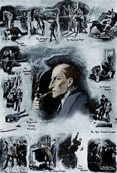 The noted British actor Stephen Fry narrates Arthur Conan Doyle's tales of a certain obsessive detective. Sherlock Holmes Elementary, Detective Sherlock Holmes, Crime Fiction, Fiction Novels, Cinema Video, Sherlock Poster, Scottish Authors, Detective Aesthetic, Jeremy Brett