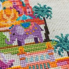 Pretty Little India Satsuma Street Modern Cross Stitch