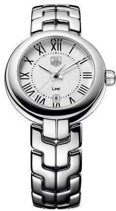 TAG Heuer Link Lady with White Roman Numeral Dial - Jewelers Trade Shop, Pensacola FL