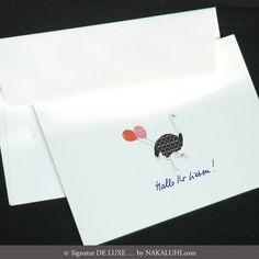 Karten / Einladung / Grusskarten / Glückwunsch / personalisiert / Kartenset / Klappkarten / 4er Set 7,80 Euro www.nakaluhi.com #design #papeterie #karten #strauss #einladung #hochzeit #tiere #geburtstag