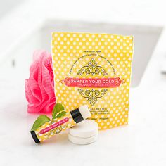 Pamper Your Cold Set Soothing Skin Stick and Shower Steamers | Perfectly Posh
