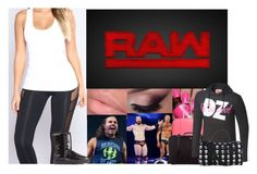 """""""Arriving to the Arena"""" by xxxladiidxxx ❤ liked on Polyvore featuring WWE, UGG Australia, Lojel and Fendi"""