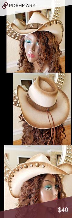 I just added this listing on Poshmark  Austin Cowboy Hat Jupiter Pinchfront  Crown SizeM. 0b32ebd950f3