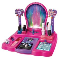 For an activity that's equal parts fun and creative, get your kid the My Look 8-in-1 Nail Design Studio from Cra-Z-Art. They'll have a blast creatively decorating their nails with this at-home nail salon —with a variety of nail polishes, nail pens, nail stencils and much more, the possibilities are almost endless. This kit is sure to be a hit as an activity at birthday parties or sleepovers, or just when they want to make their nails look fancy.