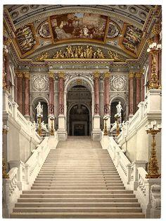 Festaufgang Wiener Staatsoper- Wien...