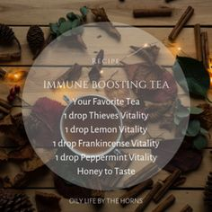 Favorite Oily Recipes — Living Life By The Horns Tea Blends, Horns, Peppermint, My Favorite Things, Recipes, Life, Mint, Horn, Food Recipes