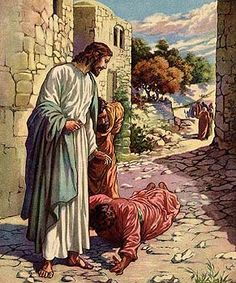 "Jesus reached out his hand and touched the man. ""I am willing,"" he said. ""Be clean!"" Immediately he was cleansed of his leprosy. Matthew 8:3"