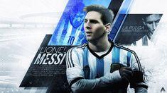 Lionel Messi (Argentina) by AlbertGFX. on - Football%Design - Sport Lionel Messi Hd, Lionel Messi Wallpapers, Leo Messi Wallpaper, Web Sport, Best Wallpaper Hd, 2015 Wallpaper, Argentina Soccer, Sports Graphic Design, Football Design