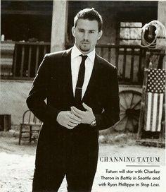 channing tatum magazine shoots