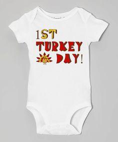 FIRST TURKEY DAY Baby Bodysuits, Tees, Thanksgiving, Holidays,Turkey, Stuffing, Black Friday, Family, Infant, Children, Newborn by EmbryLu on Etsy