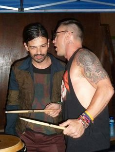 Tomo and Shannon.