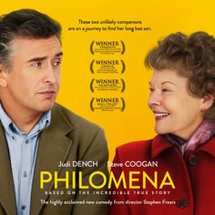 Philomena {2013} slightly too formulaic and sentimental for my tastes but I quite enjoyed the juxtaposition between the two leads. Judi Dench, as usual, was simply delightful, she'll receive an Oscar nod for this role come February, I have no doubt.