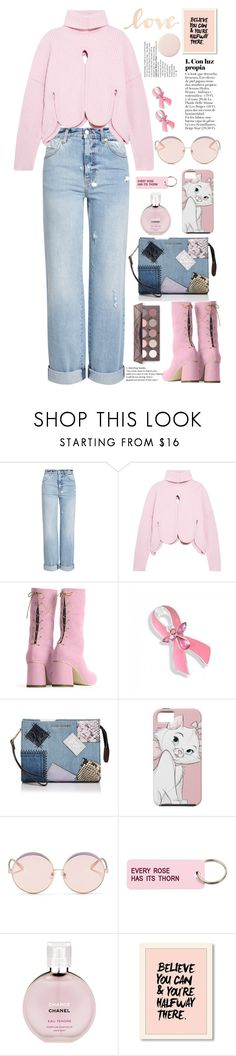 """""""love💗💗💗💗"""" by licethfashion ❤ liked on Polyvore featuring Alexander McQueen, Antonio Berardi, Bling Jewelry, Marc Jacobs, N°21, Various Projects, Chanel and Primitives By Kathy"""