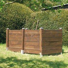 Hochbeet selber bauen, diy, Holzpfosten, Foto: GAH - ALBERTS