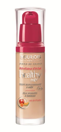 Universally Chic Makeup Look > Bourjois Healthy Mix Foundation, No. 52 Vanille, 1 Ounce