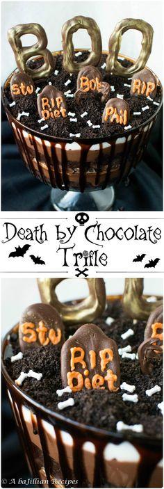 Death by Chocolate Trifle | A baJillian Recipes