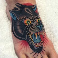 Big black cats attack. @griffengurzi made this here black cat. Meow. #capturedtattoo #griffengurzi