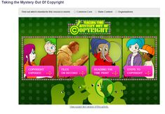 Copyright Lessons for Kids...Taking the Mystery Out of Copyright is a resource for kids produced by the Library of Congress. Taking the Mystery Out of Copyright is intended to help elementary school students understand the purposes and functions of copyright. #ded318, #WeAreEdCats
