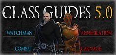 SWTOR Sentinel and Marauder 5.0 Guides
