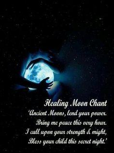 *Healing Moon Chant* #Wicca #Pagan #Chant