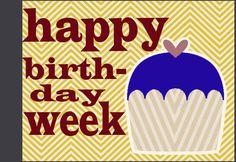 Gifts for Him :: Celebrating Birthday Week Birthday Week, Birthday Crafts, Birthday Party Decorations, Birthday Celebration, Birthday Wishes, 19th Birthday, Birthday Countdown, Birthday Quotes, Birthday Ideas