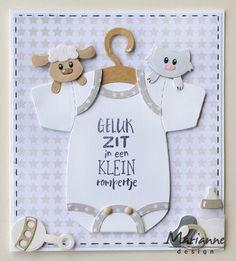 COL1422 Marianne Design Baby Animals Collectables Die Set | Crafts U Love