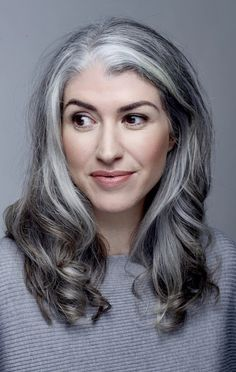 Roisin O'Connor the youngest White Hair model at 41