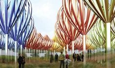 The Whirlers Installation is a System of Self-Sustaining Park Art #eco