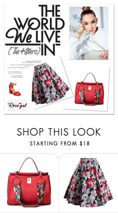"""""""Rosegal 32"""" by melodibrown ❤ liked on Polyvore featuring Sam Edelman, vintage and rosegal"""