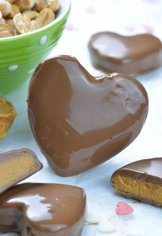 One big Reeses Peanut Butter Valentines Hearts