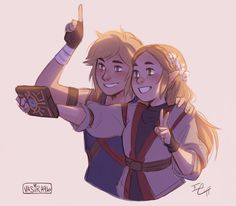 the heroes of hyrule take a selfie i rly dig alternative clothing ok