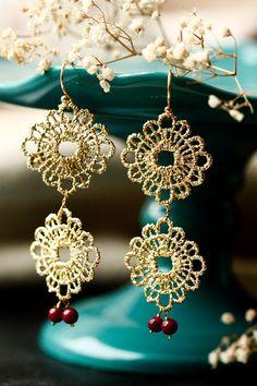 Golden Gypsy earrings by LakooDesigns
