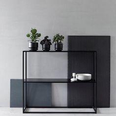 Domo Sideboard, Schwarz - Domo - Domo Design - RoyalDesign.de