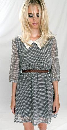 Hmm. I think I cold find something similar at an old ladies garage sale or thrift store & get the same look...hmmm