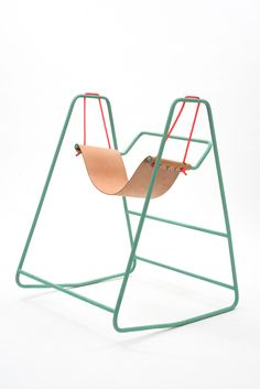 rocking swing INDUSTRIAL DESIGN. by Tobias Nickerl in Collaboration with Clara Rivière