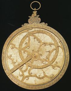 The astrolabe is considered to be the world's first scientific instrument, originating in ancient Greece, refined in the Middle East and relied upon into the 18th century. Above: A brass planispheric astrolabe by Georg Hartmann, Nuremberg, 5″ in diameter, dated 1532