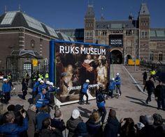 Rijksmuseum plaatst de Nachtwacht terug. Op 13 april de opening!