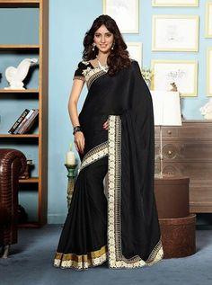 Sizzling neha sharma designer party wear saree