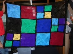 Ravelry: bleate's Blanket for Maryan's father