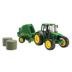 ERTL® 1:16 Big Farm John Deere Tractor and Baler - Tractor Supply Co. Baler, Presents For Boys, Farm Toys, Tractor Supplies, John Deere Tractors, Old Farm, Logan, Big, Christmas