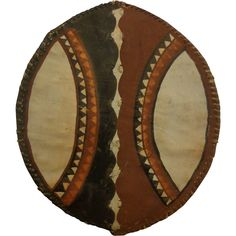 cfe5693241f3b7 Authentic Masai Shield Africa Vintage African Art -- found at  www.rubylane.com