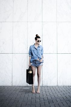How to Wear a Denim Shirt in 20 Ways | StyleCaster