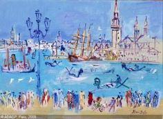 Raoul Dufy: LE PORT DE VENISE