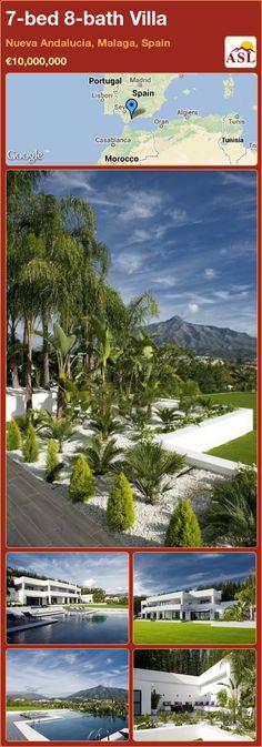 7-bed 8-bath Villa in Nueva Andalucia, Malaga, Spain ►€10,000,000 #PropertyForSaleInSpain