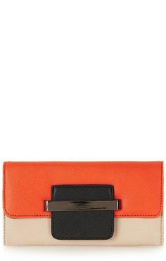 Love for fall! Topshop Clutch.