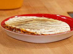 Sunny Anderson's Cheeseburger Quesadillas