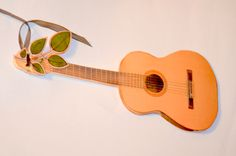 Guitar Handmade card / Invitatie - chitara pentru un pasionat de muzica