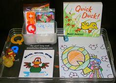 Tot School & PreK Learning Activities: Letter Q Through the Five Senses