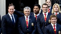Rugby player apologises for prank on PM